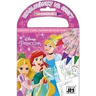 Omalovánky na cesty Disney Princezna - Kreativní sada
