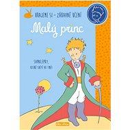 Kniha aktivit Malý princ oranžové samolepky: Hrajeme si - zábavné učení - Kniha