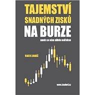Tajemství snadných zisků na burze: aneb co vám nikdo neřekne - Kniha