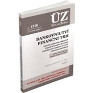 ÚZ 1276 Bankovnictví, Finanční konglomeráty, Praní špinavých peněz: podle stavu k 1. 9. 2018 - Kniha
