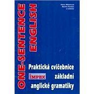One-sentence english: Praktická cvičebnice základní anglické gramatiky - Kniha