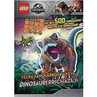 Dinosauři přicházejí: Velká samolepková výzva - Kniha