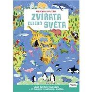 Objevuj s puzzle Zvířata celého světa - Kniha