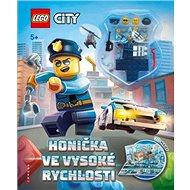 LEGO CITY Honička ve vysoké rychlosti: Osahuje rozkládací 3D kulisy a 2 minifigurky - Kniha