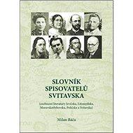 Slovník spisovatelů Svitavska - Kniha