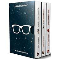 3x Ray Bradbury BOX: 451 stupňů Fahrenheita, Ilustrovaný muž, Marťanská kronika - Kniha