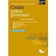 Civilní právo procesní část první Řízení nalézací - Kniha