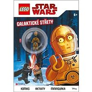 LEGO Star Wars Galaktické střety: Komiks, aktivity, minifigurka - Kniha
