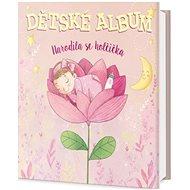Dětské album Narodila se holčička - Kniha