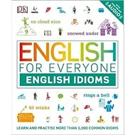 English for Everyone: English Idioms: Learn and practise common idioms and expressions - Kniha