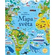 Velká bludišťárna Mapa světa - Kniha