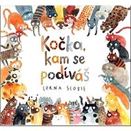 Kočka, kam se podíváš - Kniha