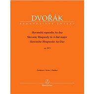 Slovanská rapsodie As dur op. 45/3: partitura - Kniha
