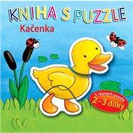 Kniha s puzzle Kačenka: 5 různých puzzle 2-3 dílky