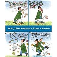 Jaro, Léto, Podzim a Zima v kostce BOX - Kniha
