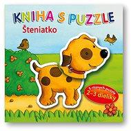 Kniha s puzzle Šteniatko