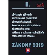 Zákony 2019 II. časť A - Kniha