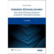Poznámky účtovnej závierky: pre veľké účtovné jednotky a subjekty verejného záujmu v praxi - Kniha