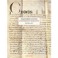 Nejstarší listiny Univerzity Karlovy - Kniha