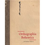Orthographia Bohemica - Kniha