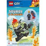 LEGO CITY Souboj s plameny: Komiks, příběh, hlavolamy, obsahuje minifigurku