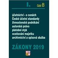 Zákony 2019 I. část B - Kniha