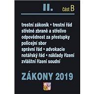 Zákony 2019 II. část B - Kniha