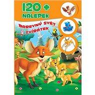 120+ nálepek Barevný svět zvířatek - Kniha
