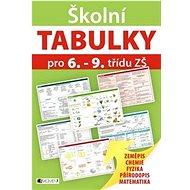 Školní TABULKY pro 6.-9. třídu ZŠ: Zeměpis, Chemie, Fyzika, Přírodopis, Matematika - Kniha