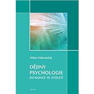 Dějiny psychologie do konce 19. století - Kniha