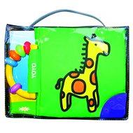 Látková kniha s chrastítkem Žirafa - Kniha