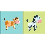 Dětská knížka Kravička Zebra - Kniha