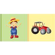Dětská knížka Farmář Traktor - Kniha
