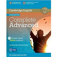 Cambridge English Complete Advanced Student´s Book without answers 2nd edition - Kniha