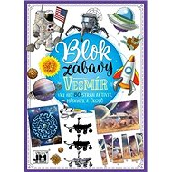 Blok zábavy Vesmír: Více než 80 stran aktivit, hádanek a úkolů