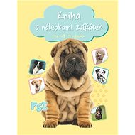 Kniha s nálepkami zvířátek Psi: více než 100 nálepek - Kniha