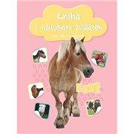 Kniha s nálepkami zvířátek Koně: více než 100 nálepek - Kniha