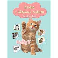 Kniha s nálepkami zvířátek Kočky: více než 100 nálepek - Kniha