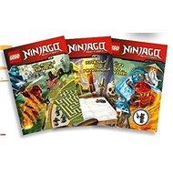 LEGO NINJAGO Krabička plná knih: Hledej a vyřeš, Kresli a navrhuj, Čti a vytvoř+figurka