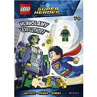 LEGO DC Comics Super Heroes Hlavolamy Lexe Luthora: Aktivity, příběh, komoks + minifigurka