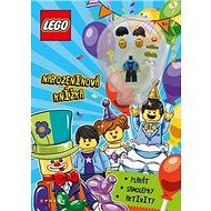 LEGO ICONIC Narozeninová knížka: Plakát, samolepky, aktivity + minifigurka