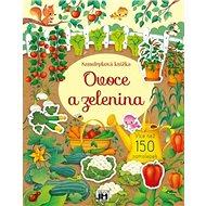 Samolepková knížka Ovoce a zelenina - Kniha
