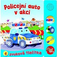 Policejní auto v akci: 4 zvuková tlačítka - Kniha