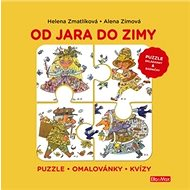 Od jara do zimy: Puzzle - Omalovánky - Kvízy - Kniha