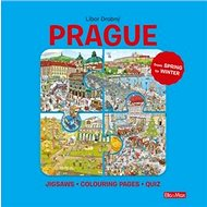 Prague: Puzzles - Colouring - Quizzes - Kniha