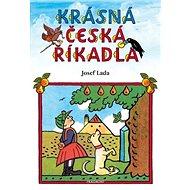 Krásná česká říkadla - Kniha