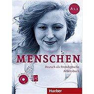 Menschen A1/1: Arbeitsbuch mit Audio-CD - Kniha