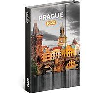 Týdenní magnetický diář Praha 2020 - Kniha