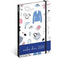 Týdenní diář Módní diář 2020 - Kniha
