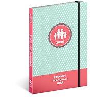Rodinný diář – pomocník všech maminek 2020 - Kniha